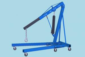 Crane crane, mechanical, repair, workshop, garage, work, cart, engine, engineering, fix, tools