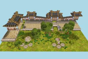 Map bsp, town, city, castle, build, map, structure