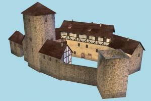 Castle City castle, city, town, house, home, build, building, residence