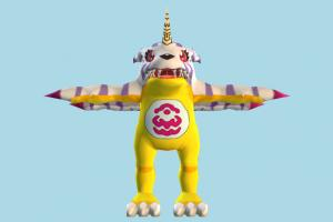 Gabumon Pokemon, Pokémon, Digimon, animal-character, cartoon