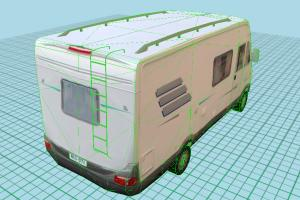 Van Low-poly old-van-2