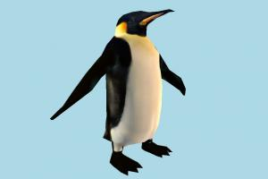 Penguin penguin, polar-animal, polar, frozen, bird, animal, animals, nature, lowpoly