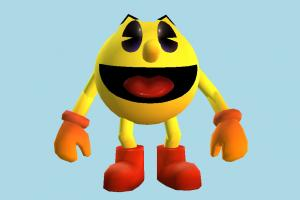 Pac Man pac-man, pac, man, cartoon, toony, toons, character, toy