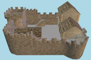 Stronghold stronghold, castle, country, house, building, build, domicile, structure