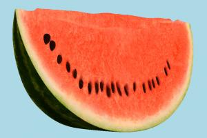 Watermelon Slice watermelon, fruit, vegetable, food, green, red, fresh, tasty, slice, juicy