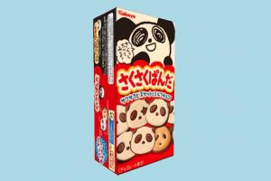 Panda Food food, panda, box, foods, cartoon