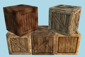 Wooden Crates crate, crates, box, boxes, wooden