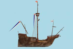 Corsair Ship pirate-ship, boat, sailboat, pirate, ship, watercraft, vessel, wooden, maritime
