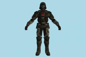 Soldier counter-strike, army-man, robot, soldier, man, people, human, character