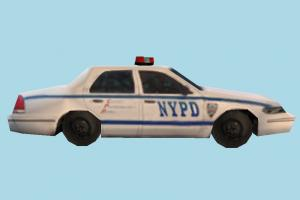 Police Car Low-poly NYPD, Spider-Man, police-car, police, car, emergency, vehicle, truck, carriage, low-poly