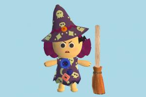 Witch witch, halloween, girl, female, people, human, character, cartoon