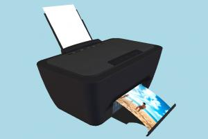 Printer printer, hp, office, electronic, device, photo, assets, office-stuff, design, object
