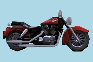 Motorcycle Lowpoly motorbike, bike, motorcycle, motor, cycle, lowpoly