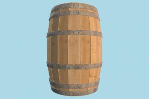 Barrel barrel, crate, crates, box, object