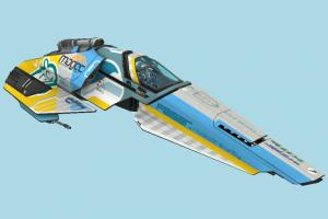 Feisar Spaceship spaceship, spacecraft, space, ship, craft, aircraft, airplane, plane, air, vessel