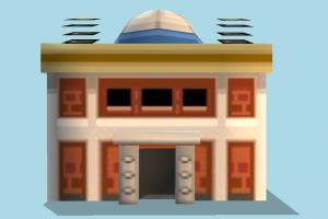 Building house, home, building, city, build, apartment, flat, residence, domicile, structure, mansion, palace, lowpoly