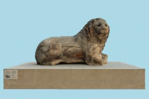 Sculpture statue, sculpture, art, stone, marble, animal, animals, zoology, zoo, lion