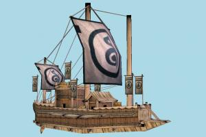 Goryeo Ship galleon, pirate-ship, boat, sailboat, pirate, ship, watercraft, vessel, wooden, maritime