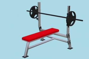 Weight Bench gym, workout, sport, weight, bench, lifting, weights, gymnasium, muscles, body-building