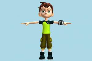 Ben 10 Ben10, ben, ten, boy, children, nerd, male, people, human, character, cartoon